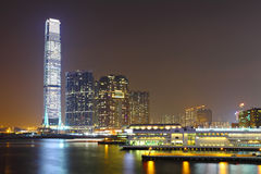 Kowloon at night Royalty Free Stock Photo