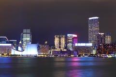Kowloon at night Royalty Free Stock Photography