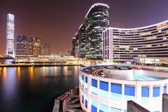 Kowloon at night Royalty Free Stock Images