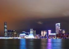 Kowloon at night Royalty Free Stock Image