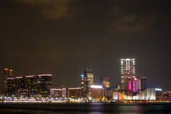 Kowloon night Stock Images