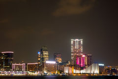 Kowloon night Royalty Free Stock Photos