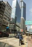 Kowloon område i Hong Kong Arkivfoto
