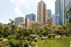 Kowloon park, Hong Kong Zdjęcia Royalty Free