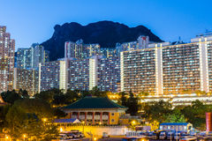 Kowloon residential building Stock Images