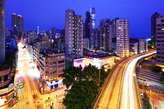 Kowloon side in Hong Kong Stock Photos