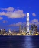Kowloon side in hong Kong. At night Stock Photo