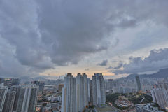 Kowloon side in Hong Kong Stock Images