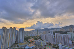 Kowloon side in Hong Kong Stock Photo