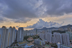 Kowloon side in Hong Kong Royalty Free Stock Photos