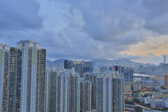 Kowloon side in Hong Kong Stock Photography