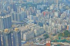 Kowloon side view Hong kong Stock Photo