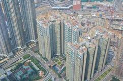 Kowloon side view Hong kong Royalty Free Stock Image