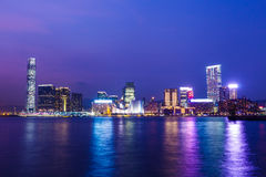 Kowloon skyline in Hong Kong Royalty Free Stock Photography
