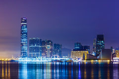 Kowloon skyline Stock Image