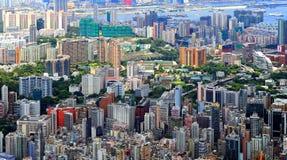 Kowloon skylines, hong kong Stock Photos