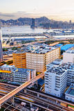 Kowloon at sunset Royalty Free Stock Images
