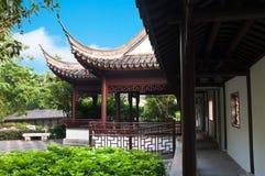 Kowloon Walled City Garden, Hong Kong. Chinese architecture at the Kowloon Walled City Garden, Hong Kong Stock Images