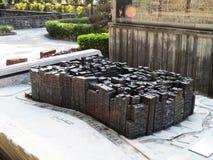 Kowloon Walled staden parkerar monumentet Arkivbilder