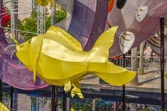Kowloon Zijart exhibit stock afbeelding