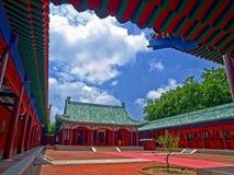 koxinga寺庙台南 免版税库存照片
