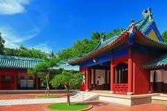 Koxinga Shrine - Historic Site of Tainan Stock Photography
