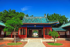 Koxinga Shrine - Historic Site of Tainan Royalty Free Stock Photo