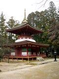 Koya-san Temple. A Stupa on Mount Koya in Japan Stock Photos