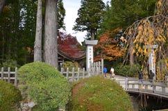 Koyasan всемирное наследие Япония стоковое фото
