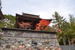 Koyasan el patrimonio mundial Japón Imagen de archivo