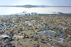 Koyashskoye salt lake Stock Photo