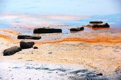 Koyashskoye salt lake Royalty Free Stock Image