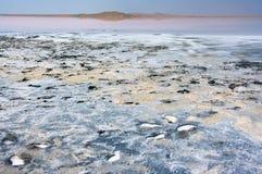 Koyashskoye salt lake Royalty Free Stock Photo