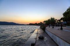 Koycegiz koycegiz jeziorny pobliski port Fotografia Royalty Free