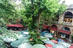 Koza Han in Bursa Lizenzfreie Stockbilder