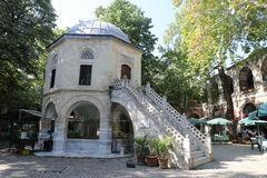 Koza Han in Bursa-Stadt, die Türkei Stockbilder