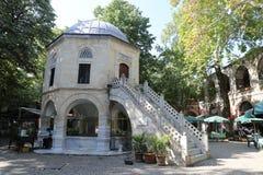 Koza Han dans la ville de Brousse, Turquie Images stock