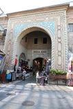 Koza Han dans la ville de Brousse, Turquie Images libres de droits
