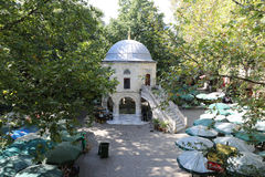 Koza Han nella città di Bursa, Turchia Fotografia Stock