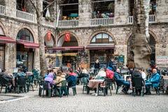 Koza Han siden- marknad i Bursaö Turkiet Royaltyfri Foto