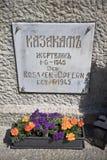 Kozacki pamiątkowy zabytek, Lienz, Austria obraz royalty free