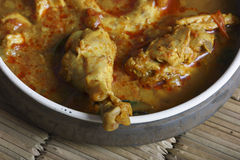 Kozhambu is a spicy non-veg gravy from Tamilnadu. Stock Photography