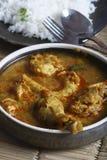 Kozhambu is a spicy non-veg gravy from Tamilnadu. Stock Photo