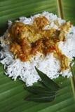 Kozhambu is a spicy non-veg gravy from Tamilnadu. Royalty Free Stock Image