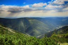 Kozi hrbety- Krkonose park narodowy w republika czech Obraz Royalty Free