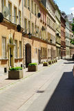 Kozia street in Warsaw, Poland Stock Photography