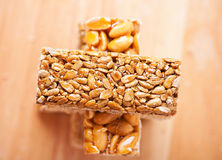 Kozinaki with nuts (sunflower Stock Photo