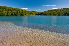 Kozjak Lake Royalty Free Stock Image