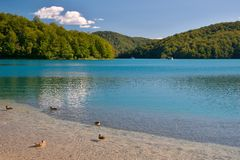 The Kozjak lake Royalty Free Stock Photo