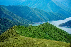 Kozjak lake in Macedonia Stock Photography